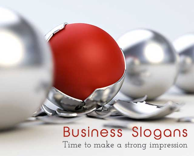 Business slogans industries