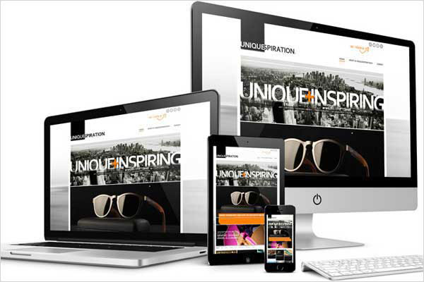 new responsive website