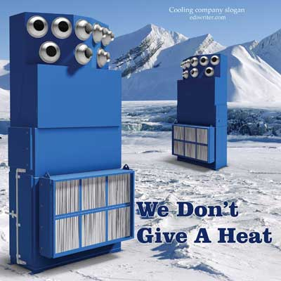 slogan example for a cooling systems company